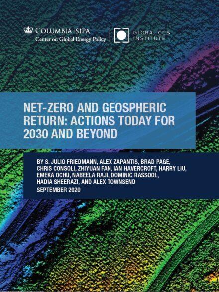 零净值和重返地球:为了2030年及以后,今天就要行动