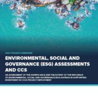 环境、社会与治理(ESG)评估和CCS