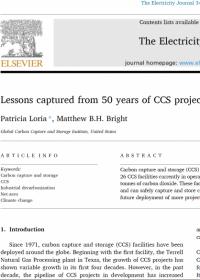 CCS项目50年的经验